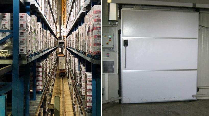 Съхранение на продукти Интерсервиз Узунови АД